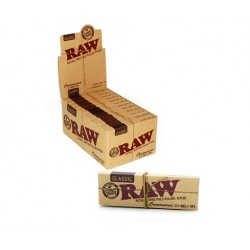 Papelillos RAW Connoisseur 1 1/4 + TIPS