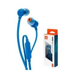 Audífonos con Micrófono JBL Tune T110 Azul