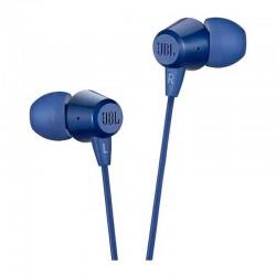 Audifonos JBL C50hi In Ear Manos Libres Azul