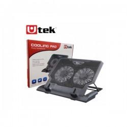 "Ventilador Notebook 12 -17""Utek , Ajustable Mod. UT-NTC020"