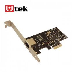 Tarjeta PCI express 10/100/1000 Mbps Utek