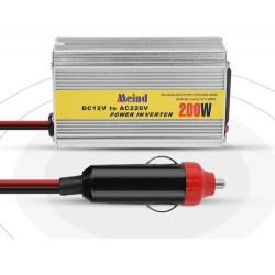 Inversor Voltaje 200w 12V 220v Encendedor USB