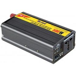 Inversor Voltaje 500w 12V 220v Encendedor USB