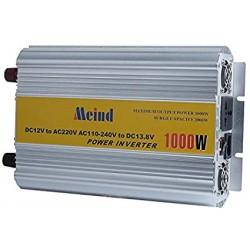 Inversor Voltaje 1000w 12V 220v Encendedor USB
