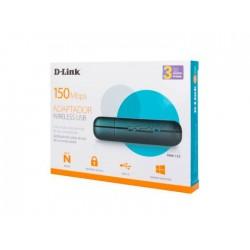 Adaptador USB Wireless N 150 DWA-123 D-Link