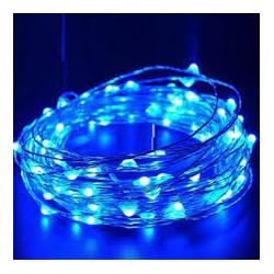 Guirnaldas 20 Led Largo 2m Color Azul