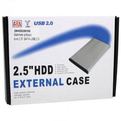 Cofre 2.5 Sata Para Disco Duro USB 2.0
