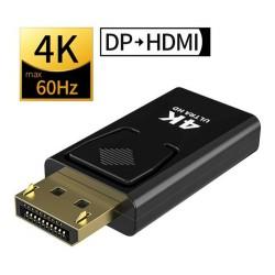 Adaptador Display Port M a HDMI H 4k Ultra Hd