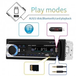 Radio de Auto Bluetooth JSD-530 BT MicroSD Aux