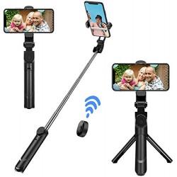 Baston Selfie Bluetooth Con Tripode Stand XT-02