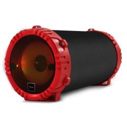 Parlante Bluetooth Karaoke TWS Mlab 20W con Micrófono Red