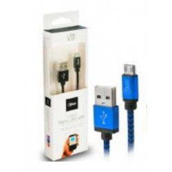 Cable USB a Micro USB 1M Mlab Azul