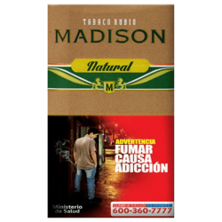 Tabaco Madison Natural 45gr