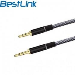 Cable Plus Aux 3.5 M/M 1mt Bestlink BL-CB120