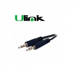 Cable Plus Aux 3.5 M/M 3m Ulink