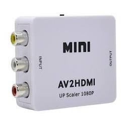 Adaptador AV a HDMI con Sonido