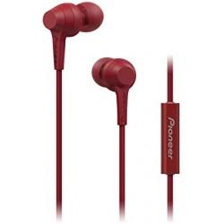 Audífonos Manos Libres Pioneer SE-C1T Rojo