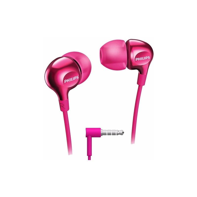 Audífonos Philips SHE-3550 Rosado