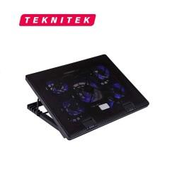 """Ventilador Notebook 12 -17"""" Teknitek  Alto Rendimiento, Ajustable"""