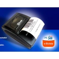 Impresora Térmica Bluetooth Recargable Mod. UT-PRT58B