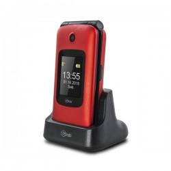 Telefono Celular Adulto Mayor Mlab Dual Band Red