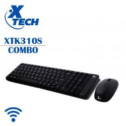 Teclado Y Mouse Inalambrico Xtech Mod. XTK310S