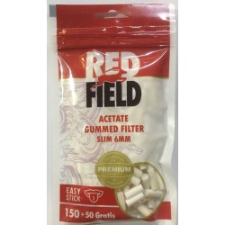 Filtros Redfield Slim Engomado 6mm 150 + 50 gratis