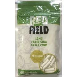 Filtros Redfield Slim Mentolado 6mm 150 + 50 gratis