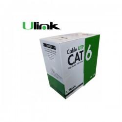 Cable de red Cat6 23 AWG CCA 4x2x0,52 caja de 305 mts
