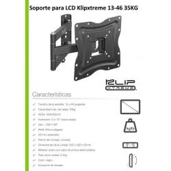 "Soporte Articulado TV 13"" a 46"" KlipX KPM-875"