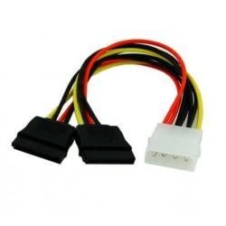 Cable Poder Molex a 2 Sata