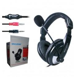 Audifono PC con Microfono OVleng W-750