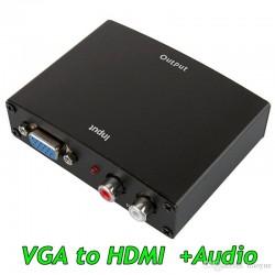 Adaptador Conversor VGA a HDMI
